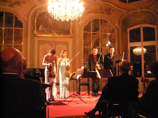 Das Casal Quartett.